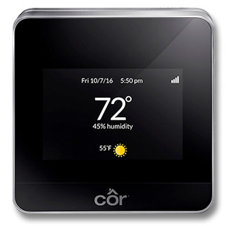 thermostat for HVAC system